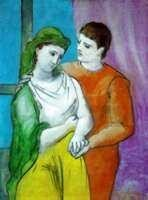 """18: PICASSO """"THE LOVERS"""""""