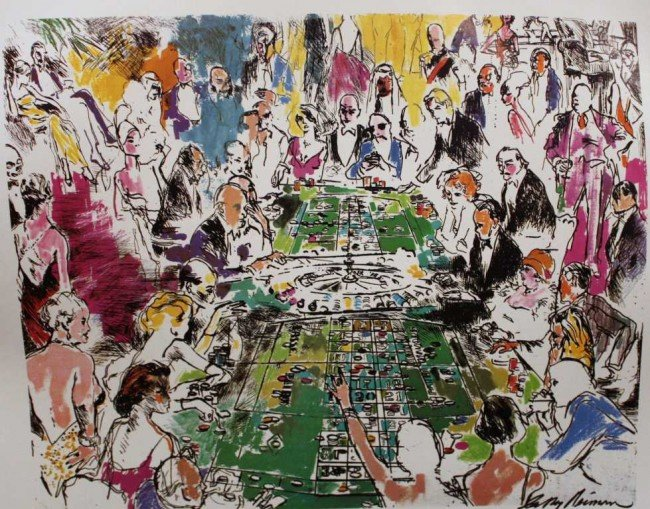 """23: """"GAME OF LIFE"""" BY NEIMAN - HAND SIGNED"""