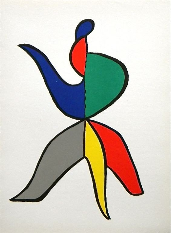 346: Alexander Calder original lithograph