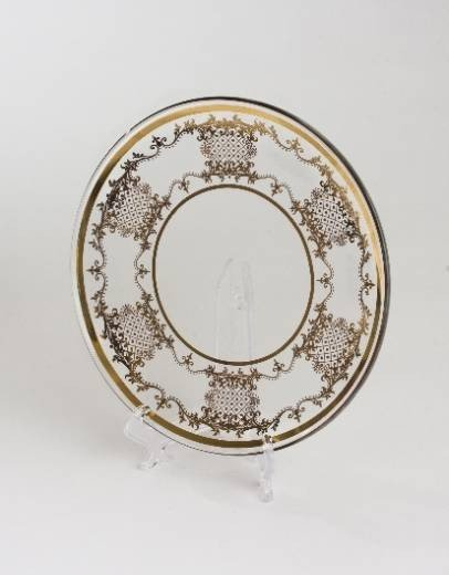 15: Set of 8 Fine Italian Charger Plates