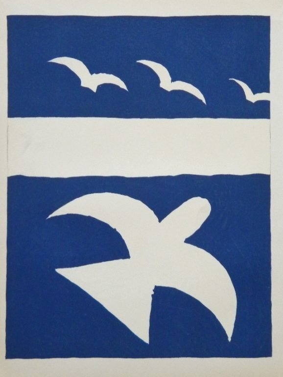 16: Georges Braque lithograph