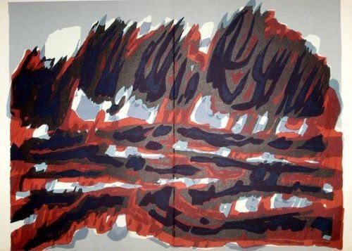 18: Raoul Ubac original lithograph, 1964
