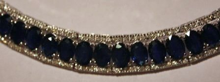 21: Sapphire & Diamond Necklace
