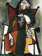 """35: PICASSO """"FIGURE IN CHAIR"""""""