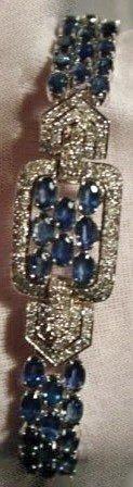 15: Sapphire & Diamond Bracelet