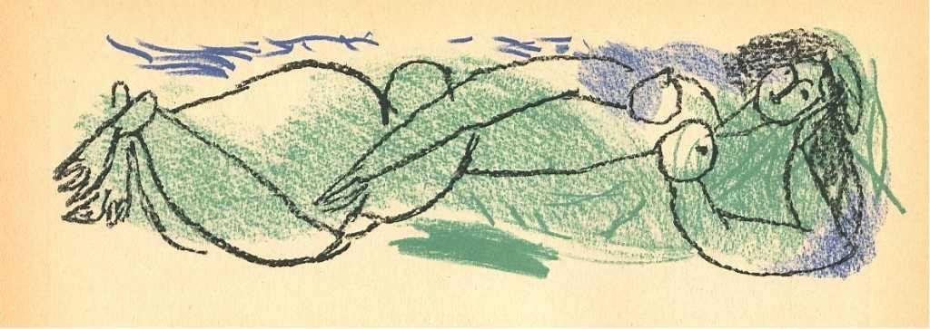 33: Marchand original lithograph, 1947