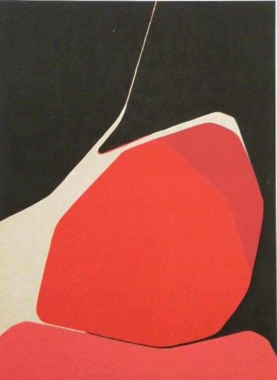 21: Palazuelo original lithograph, 1960