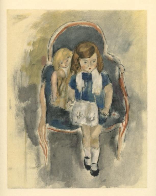 "1147: Pascin ""Jeanie Warnod"" lithograph"