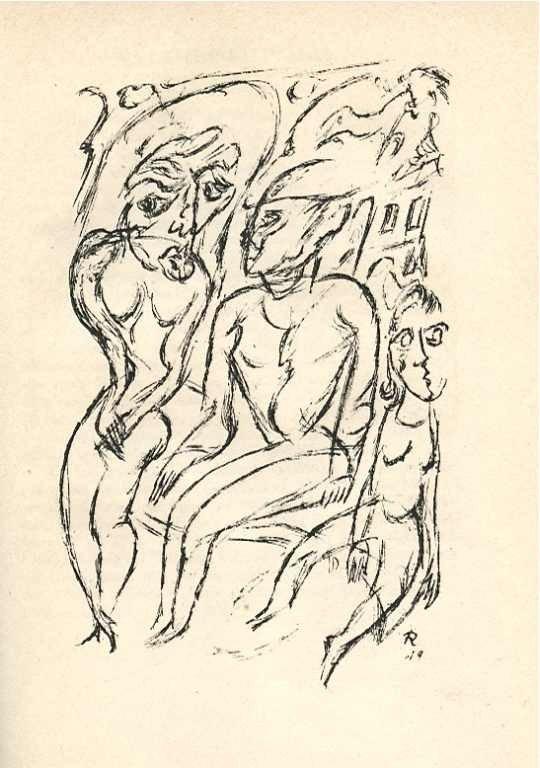 23: Walther Ruttmann original lithograph
