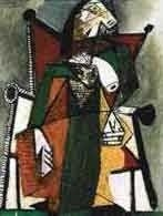 """43: PICASSO """"FIGURE IN CHAIR"""""""