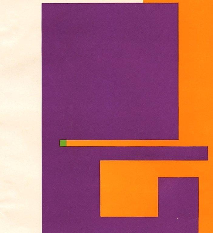 "101: Bruno Munari ""Negativo-Positivo"" serigraph"