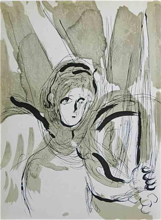 85: Marc Chagall Original Lithograph