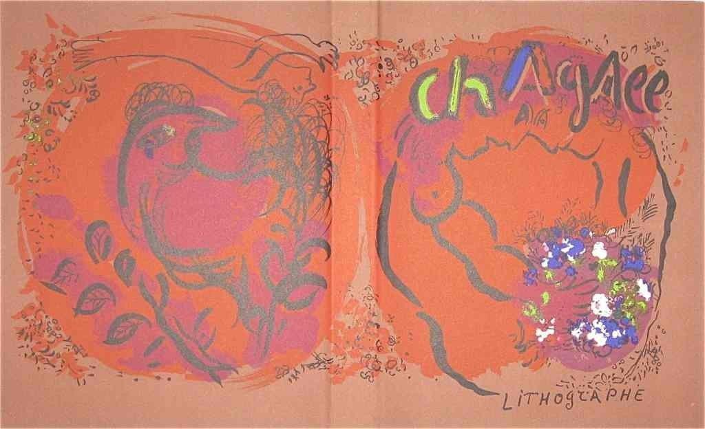 27: Marc Chagall original lithograph