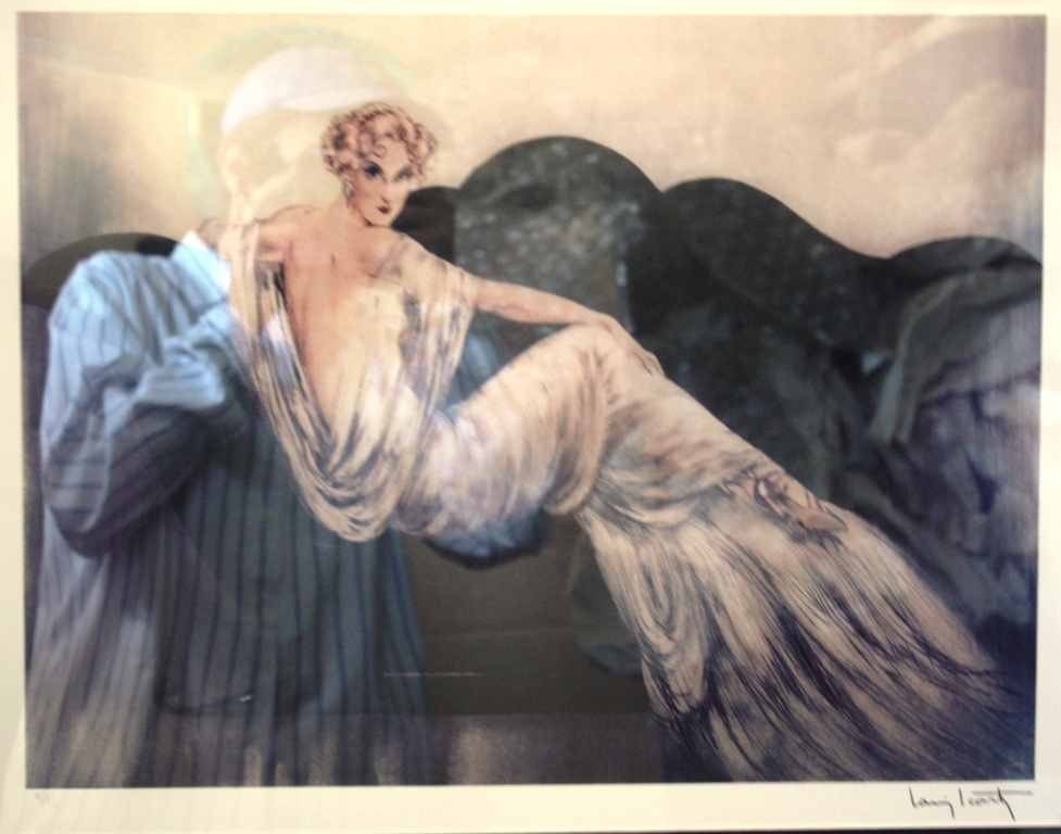 35: ICART LTD EDITION LITHOGRAPH