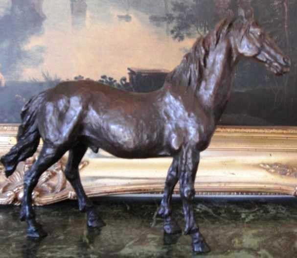"39: ""HORSE"" Bronze Sculpture"