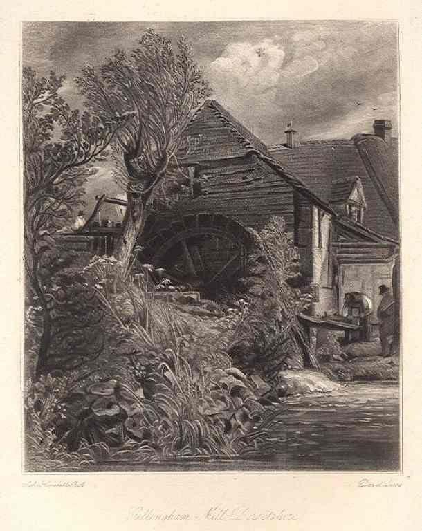 Sir John Constable / David Lucas mezzotint