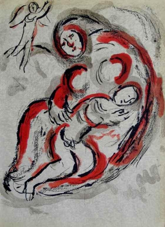 1277: Marc Chagall Original Lithograph