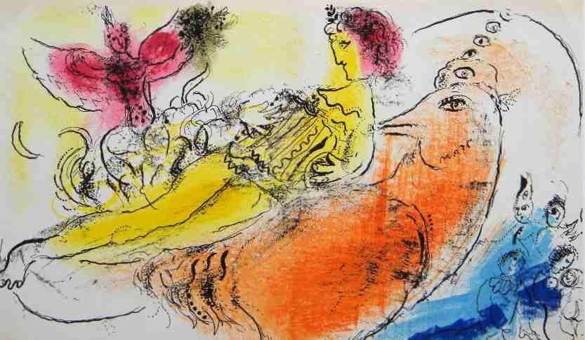 19: Marc Chagall Original Lithograph
