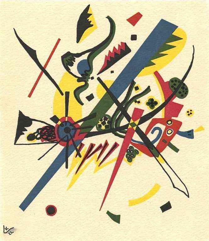 """47: Kandinsky """"Kleine Welten I"""""""