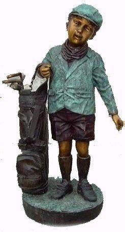 """9: """"Caddy"""" Jumbo Bronze Sculpture"""