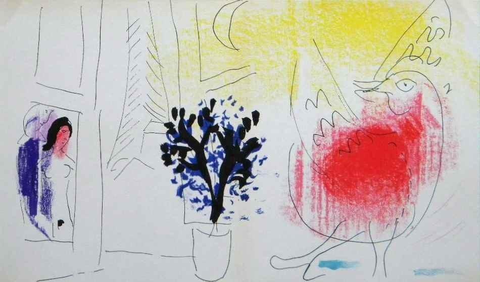 21: Marc Chagall Original Lithograph