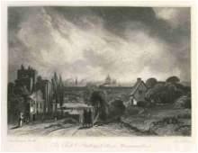 129: Sir John Constable / David Lucas mezzotint