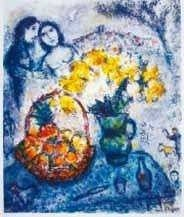 """32: MARC CHAGALL """"YELLOW BOUQUET"""""""