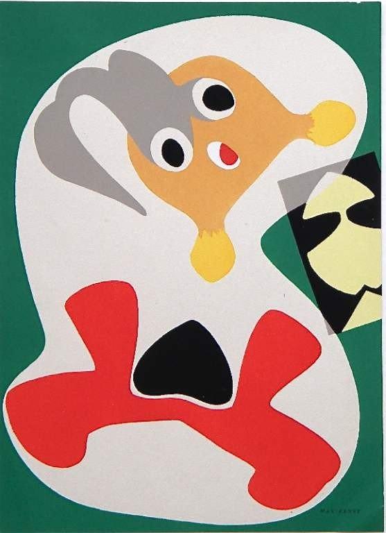 12: Max Ernst pochoir 1949
