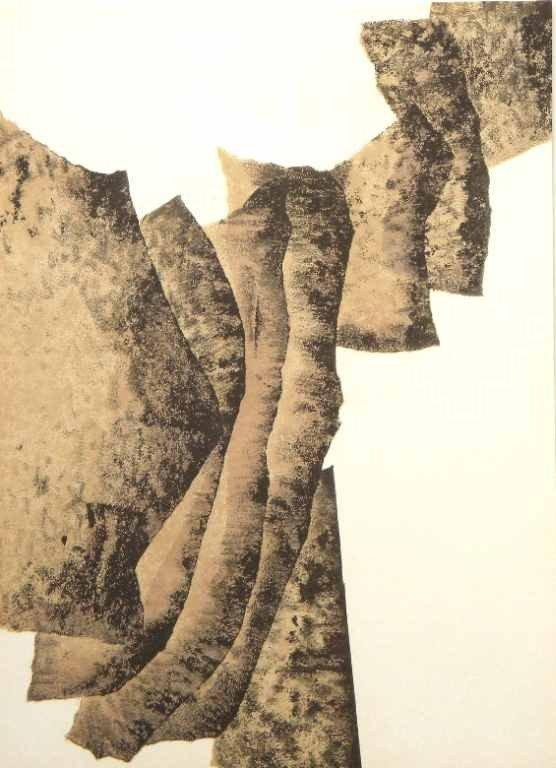 241: Reduardo Chillida Oringinal Lithograph 1960
