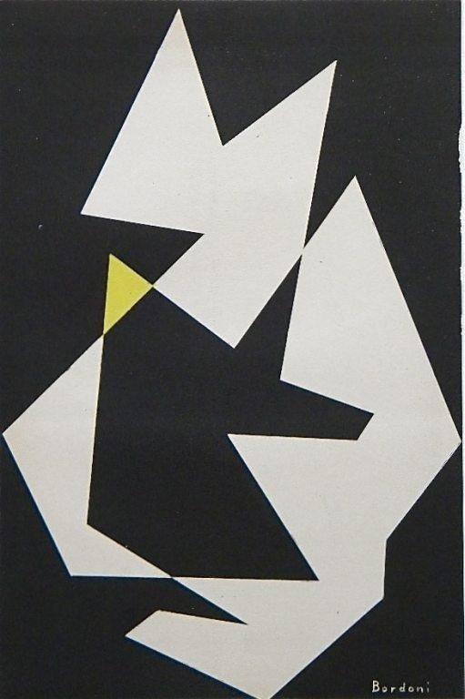 18: Enrico Bordoni original lithograph