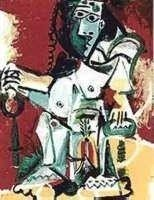 """65: PICASSO """"SITTING FIGURE"""""""