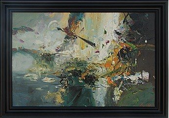 """20A: """"ABSTRACT"""" - ORIGINAL OIL ON CANVAS"""