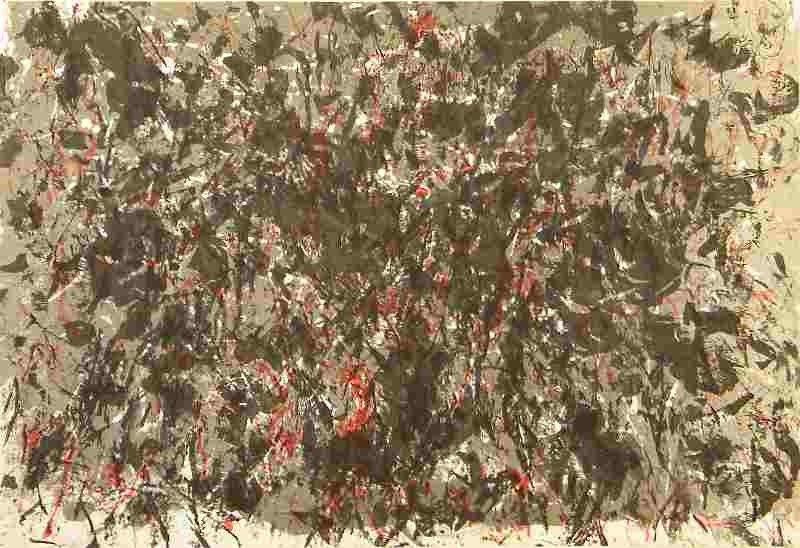 7: Francois Fiedler original lithograph, 1959