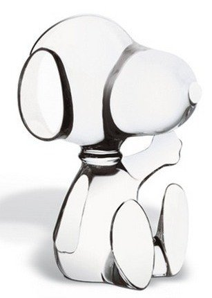 "10: BACCARAT ""SNOOPY"" SCULPTURE"