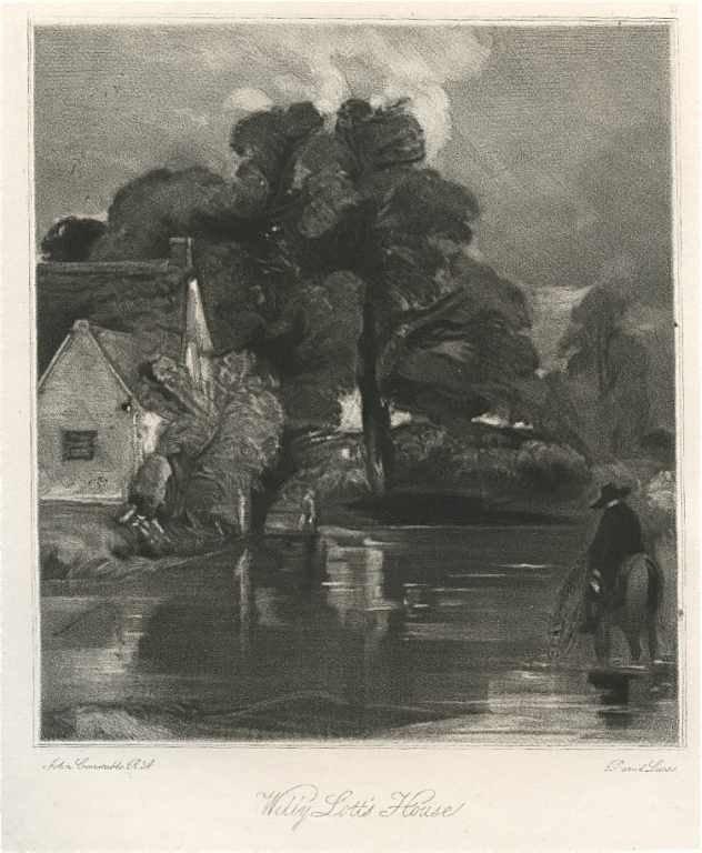 1: Sir John Constable / David Lucas mezzotint