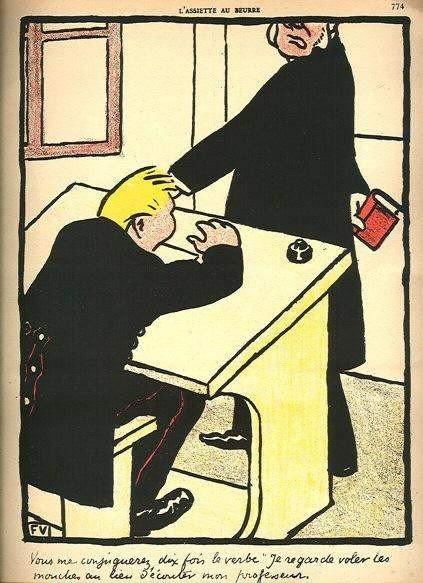 9: Felix Vallotton original lithograph