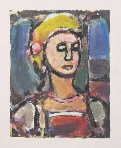 "14: Rouault ""Margot"" lithograph"