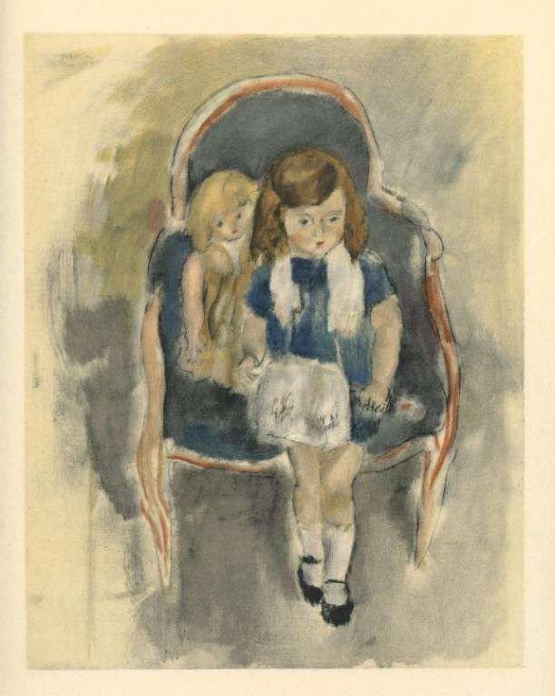 "18: Pascin ""Jeanie Warnod"" lithograph"