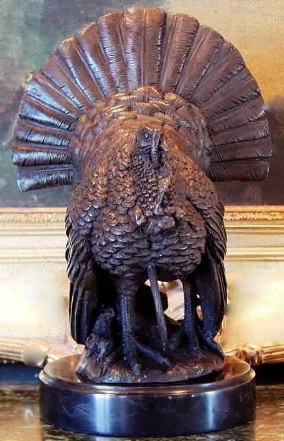 """7: """"WILD TURKEY"""" Bronze Sculpture -  DEBUT"""