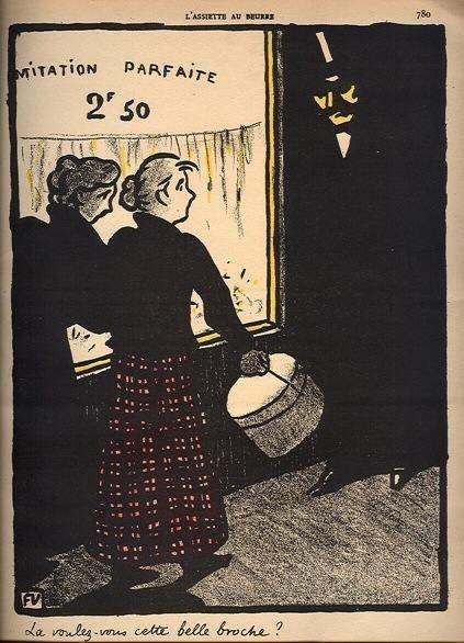 14: Felix Vallotton original lithograph