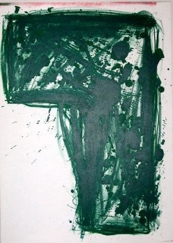 Walasse Ting original lithograph