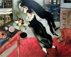"3: MARC CHAGALL ""BIRTHDAY"""