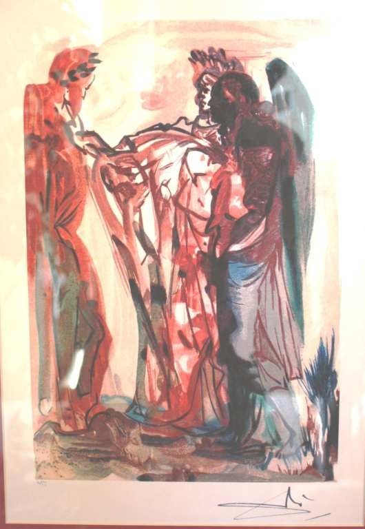 11: DALI LTD EDITION LITHOGRAPH