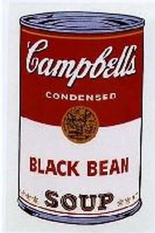 "21: WARHOL SERIGRAPH ""CAMPBELL'S SOUP CAN"""