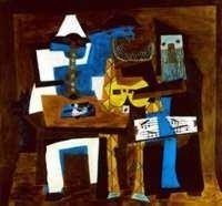 "23: PICASSO ""THREE MUSICIANS"""