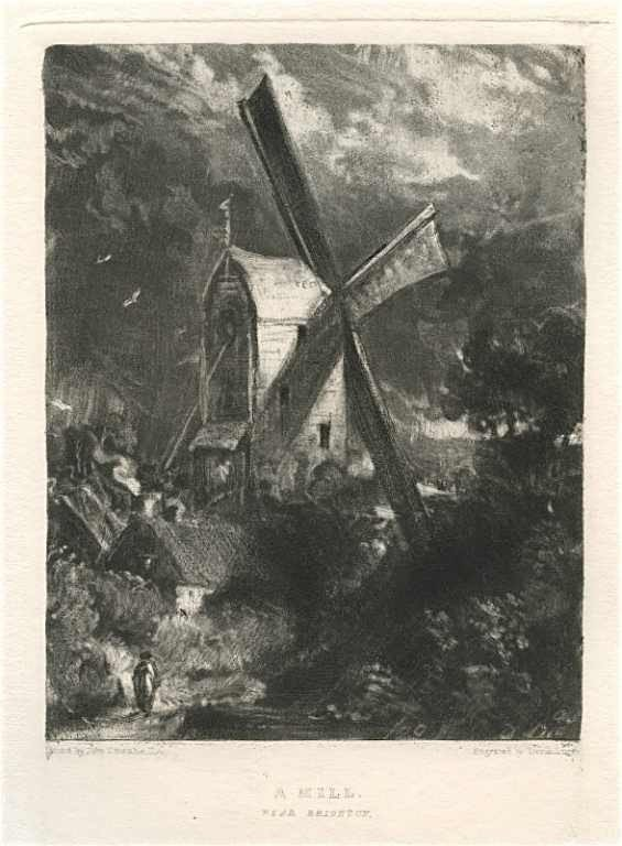 117: SIR JOHN CONSTABLE / DAVID LUCAS MEZZOTINT