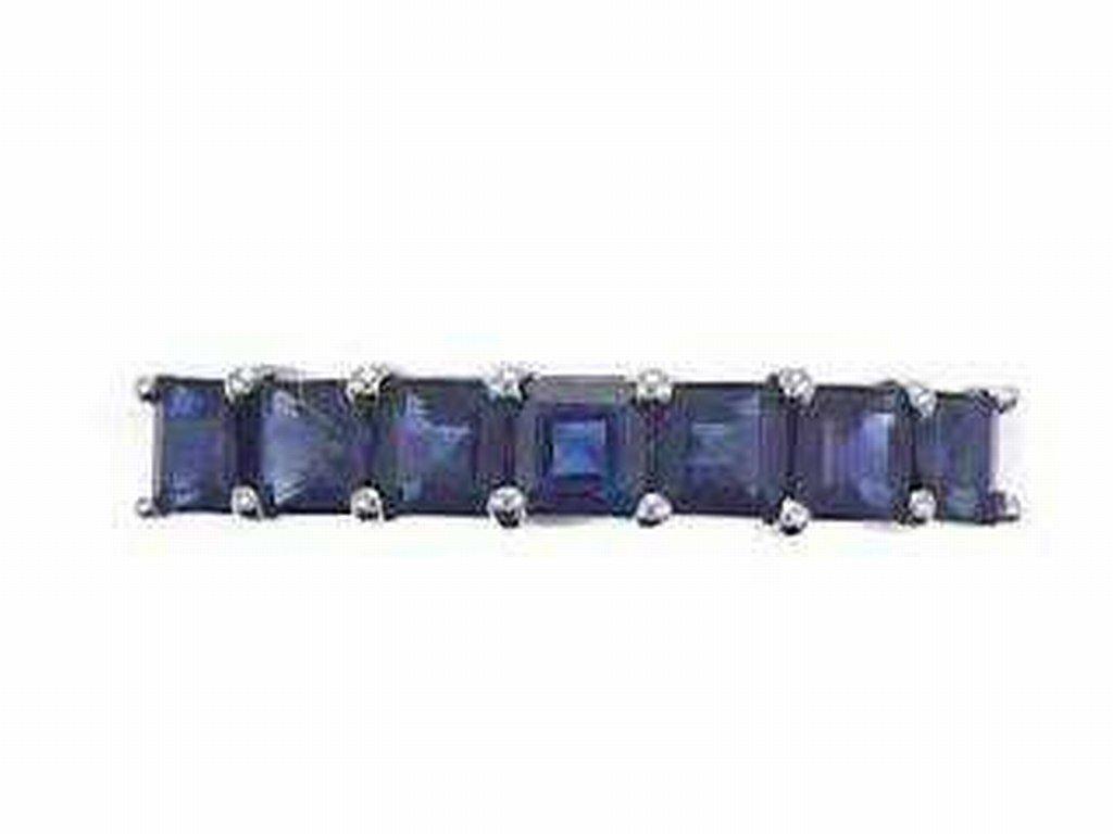4: 14K BLUE SAPPHIRE RING