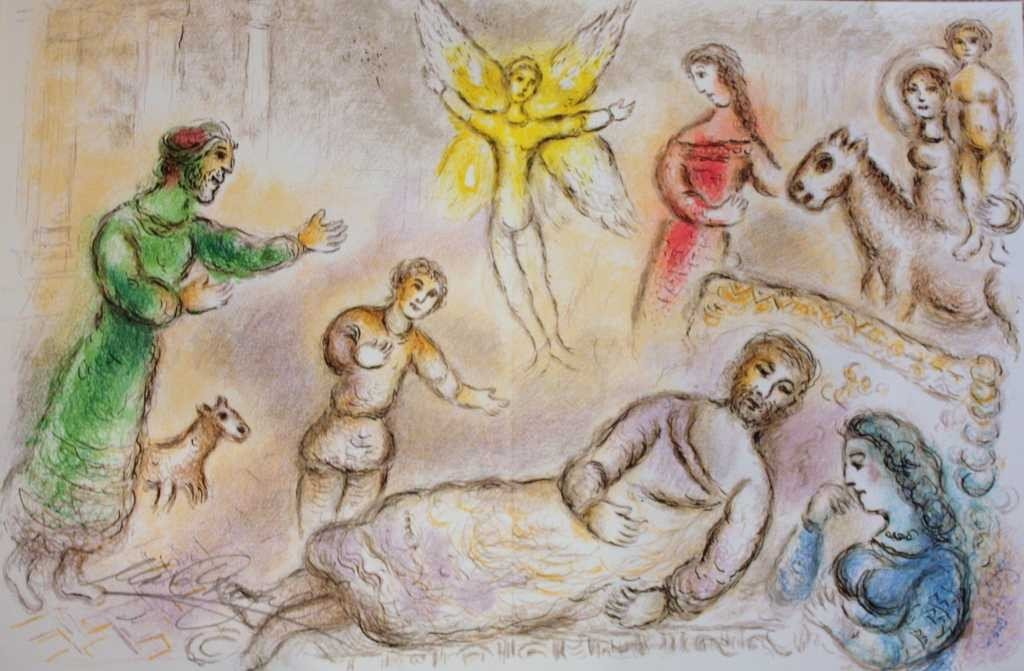 331: MARC CHAGALL HAND SIGNED LITHOGRAPH