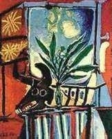 """12A: PICASSO """"BULLHEAD WITH PLANT"""""""