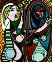 """5: PICASSO """"GIRL BEFORE A MIRROR"""""""